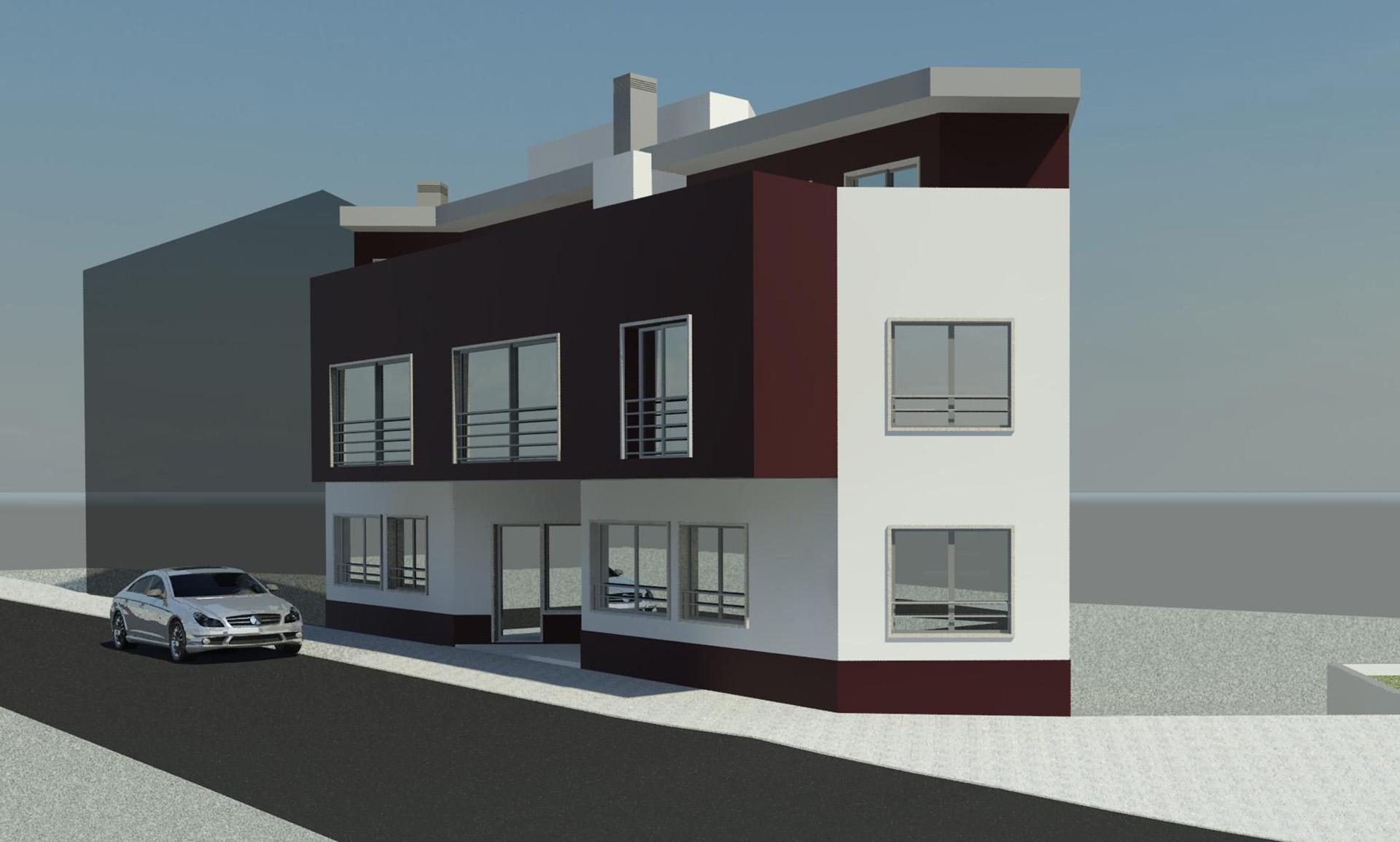 Edifício Multifamiliar – Ferragudo – Lagoa