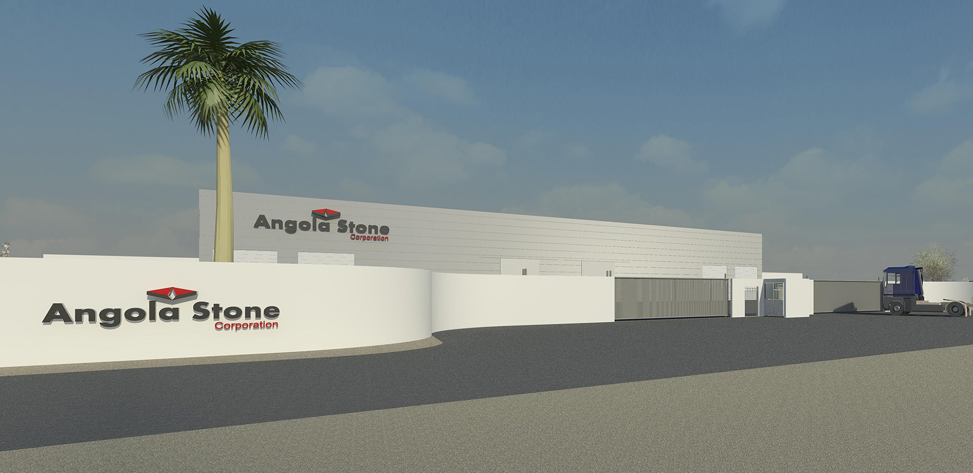 Natural Stone Transformation Plant – Angola