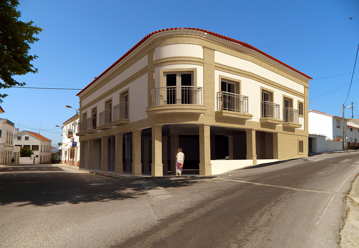 Edifício Multifamiliar – Vimeiro – Alcobaça